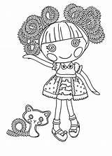 Lalaloopsy Coloring Colorear Dibujos Colorir Desenhos Munecas Jewels Imprimir Pintar Imprimer Sparkles Kolorowanki Mermaid Printable Coloriage Bestcoloringpagesforkids Pet Desenho Dzieci sketch template
