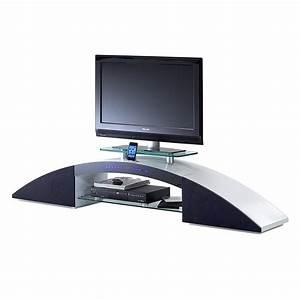 Tv Eckschrank Weiß : tv lowboard sound dock iii 2 lautsprecher 1 subwoofer hochglanz wei lackiert ~ Markanthonyermac.com Haus und Dekorationen