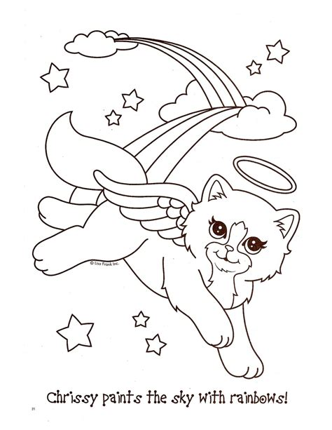 lisa frank unicorn coloring pages coloring pages