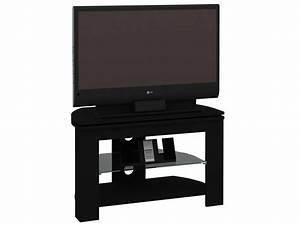 Meuble TV PASSO 4 Coloris Noir Vente De Meuble Tv