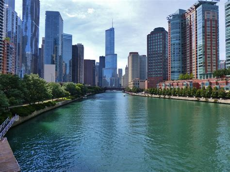 Free Chicago Photo by Chicago River Free Stock Photo Domain Pictures
