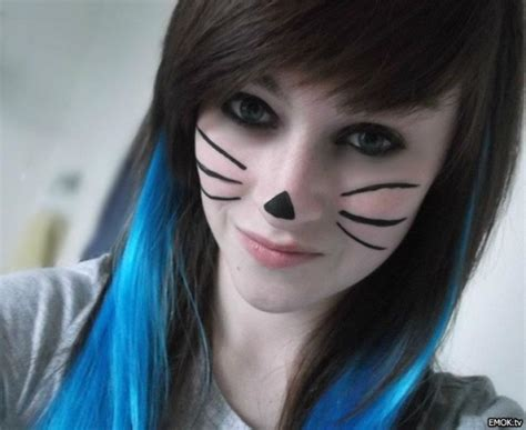 cute emo hairstyles for long hair cool hairstyle ideas