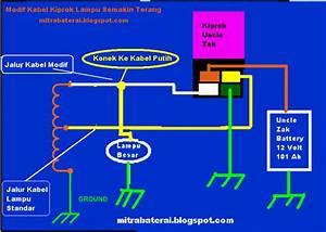 Solusi Battery  Cara Mudah Modifikasi Lampu Motor Semakin Terang Part 2