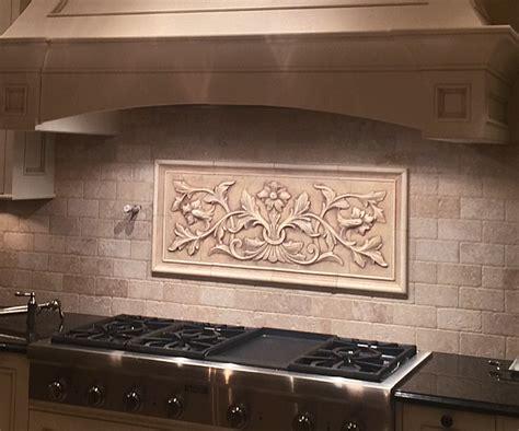 tile accents for kitchen backsplash large pressed decorative tiles by andersen ceramics 8467
