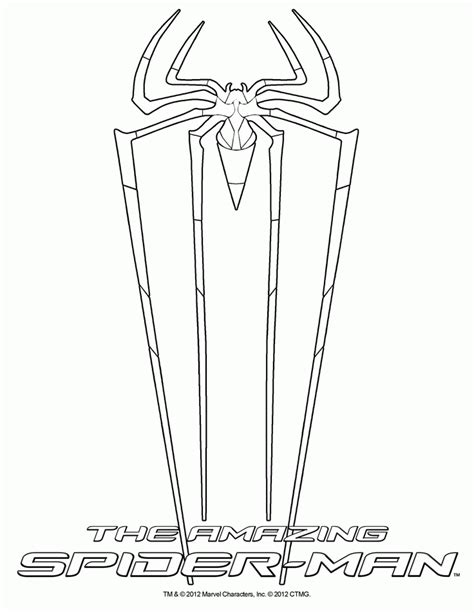 The Amazing Spider Coloring Pages Amazing Spider Amazing Spider Coloring Page Coloring Home