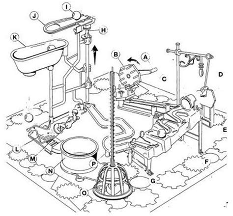 Trap 10 5 Template by Mouse Trap Game Clip Art Sketch Coloring Page