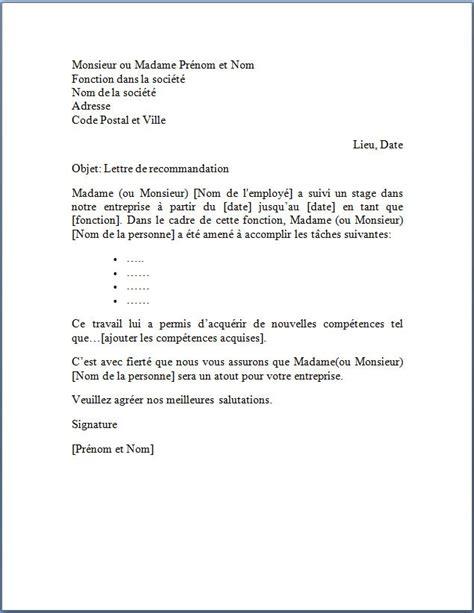 Cv Canevas by Canevas Lettre Model De Lettre Administrative