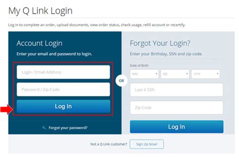 qlink wireless phone number login issues archives q link faq