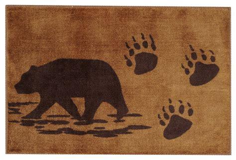 rustic bathroom rug sets bath rug rustic rugs by black forest decor