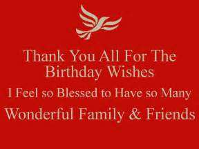 thank you all for the birthday wishes i feel so blessed to so many wonderful family