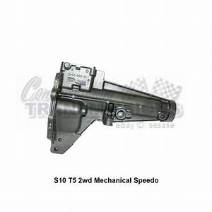 T5 S10 Mechanical Speedo 5 Speed Tail Housing Borg Warner