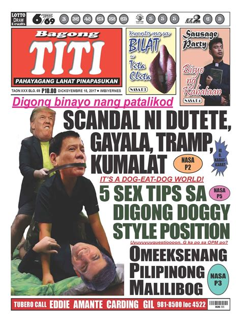 Compact tabloid papers circulate around politics, such as progressive to conservative and from capitalist to socialist. Tabloid newspaper philippines. Bandera. 2019-02-02