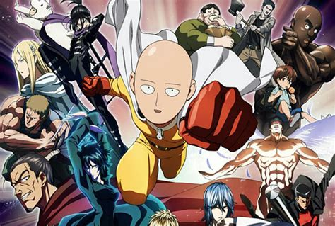 Anime Komedi One Punch One Punch Anime Review Nefarious Reviews