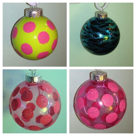 glass ornament with photo inside