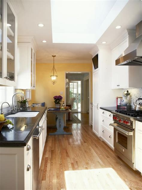 Decorating Ideas For Galley Kitchen by 30 Beautiful Galley Kitchen Design Ideas Decoration