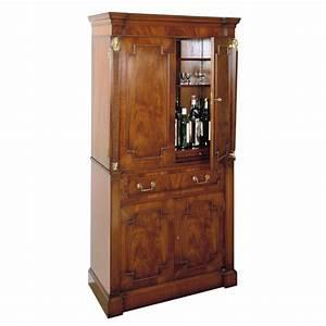 Mahogany Cocktail Cabinet