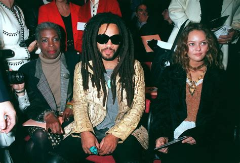 My Inner Mystery Lenny Kravitz Attending Paris Fashion