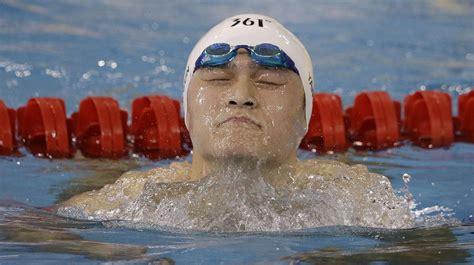 dopage le champion olympique chinois de natation sun