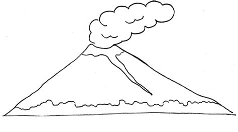 26 gambar pemandangan gunung anak tk istimewa