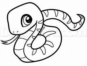 How To Draw A Snake For Beginners Step By Step Reptiles