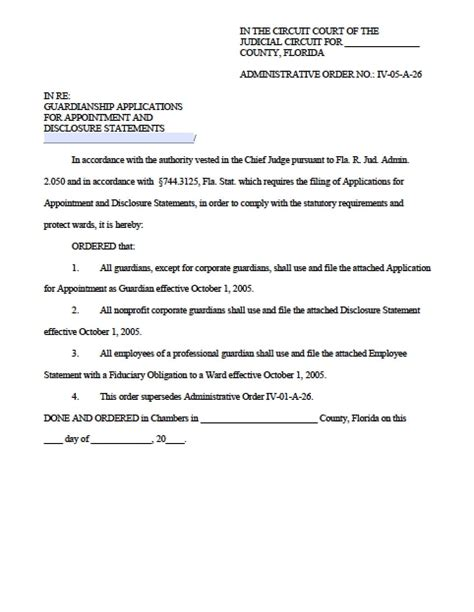 florida minor child power  attorney form power
