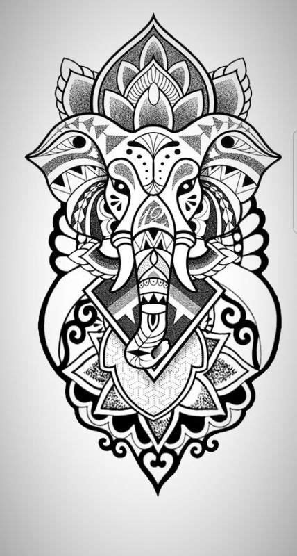 Tattoo elephant color drawings 39 trendy ideas in 2020