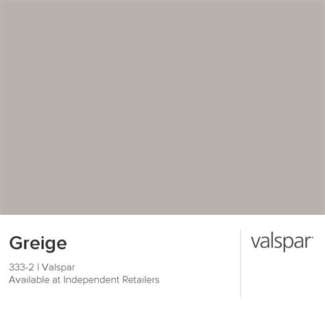 greige from valspar this is our next paint color for the