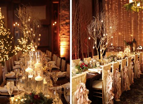 snowy christmas wedding  utah luxe mountain weddings