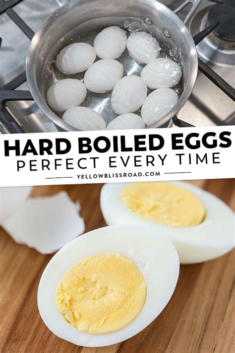 How to Hard Boil Eggs - Perfect Recipe for Easy to Peel Eggs