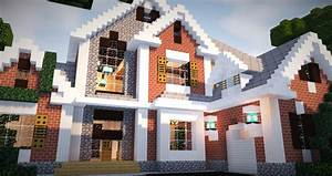Brick Mansion 5 Minecraft Project
