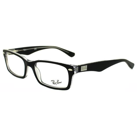 ban brillengestelle 5206 2034 top black on transparent 52mm ebay