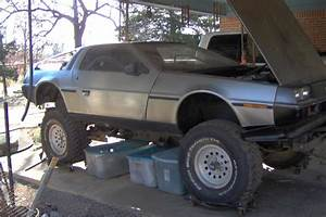 Lifted Time Machine  1981 Delorean Dmc