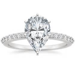 oval wedding ring discover pear shaped diamonds brilliant earth