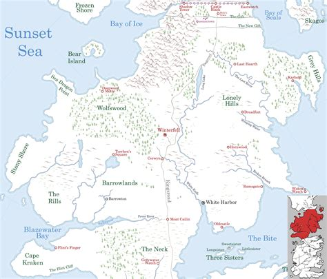 North  A Wiki Of Ice And Fire