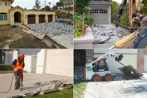 How Much Does It Cost To Demolish A Concrete Driveway