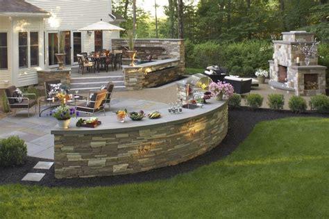 25 best ideas about raised patio on retaining
