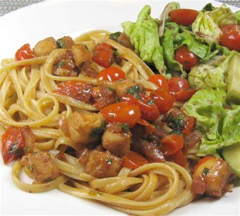 jardiniere cuisine scallops jardiniere recipe food com