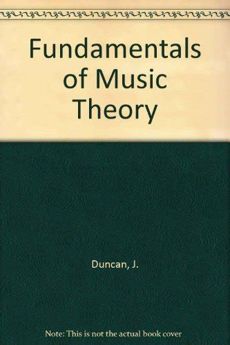 Many thinks that reading music is hard. 0030567270 - Fundamentals of Music Theory by James Duncan; Orpha Ochse - AbeBooks