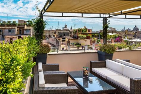 Roof Terrace : I Sofà Bar Restaurant & Roof Terrace In Rome