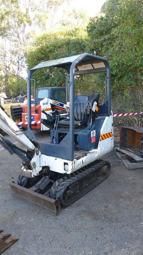 bobcat    series mini excavator auction   graysonline australia