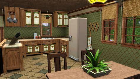 cuisine verte et marron les différents styles de maison création maison sims 3