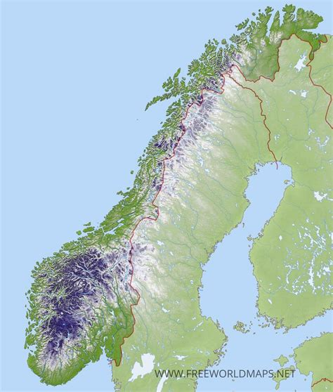 carte de norvege