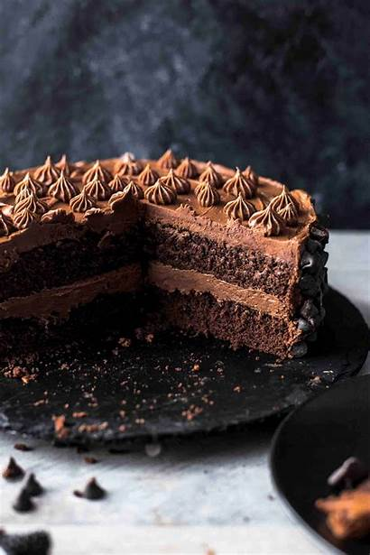 Chocolate Cake Triple Recipe Alsothecrumbsplease Instagram Plate