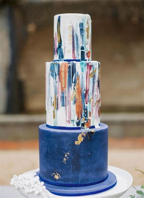 watercolor wedding cakes  blow  mind