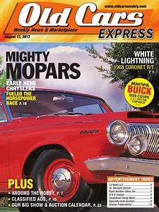Old Cars Express August 2017