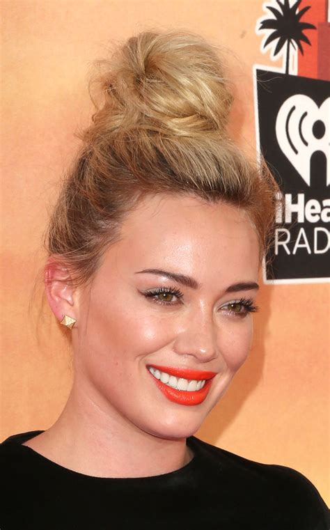 2014 hair style trends hilary duff photos photos arrivals at the iheartradio 7365