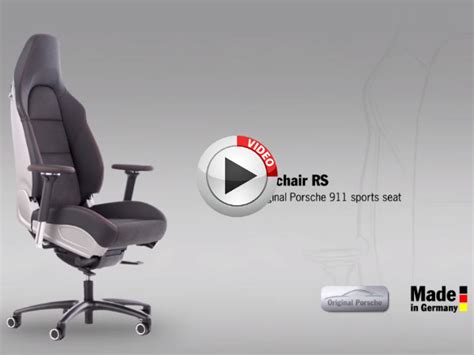 porsche will sell you an office chair rs drivespark