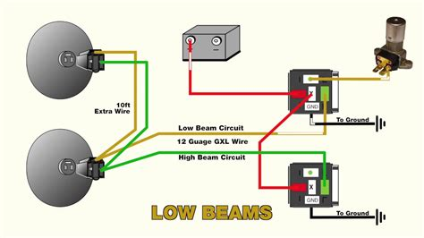 To A 38 Chevy Headlight Switch Wire Diagram by How To Wire Headlight Relays