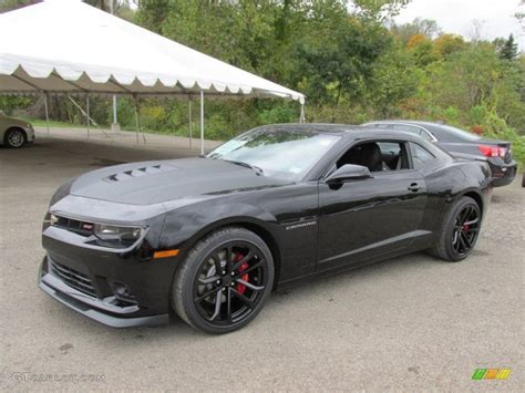 2015 Black Chevrolet Camaro Ss/rs Coupe #97971425 Photo #7