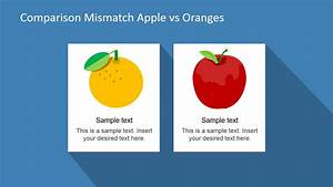 Compare Apples And Oranges Clipart